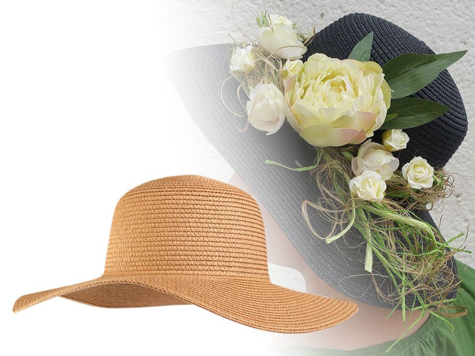 6dc869404 Dámsky klobúk k ozdobeniu   STOKLASA textilní galanterie