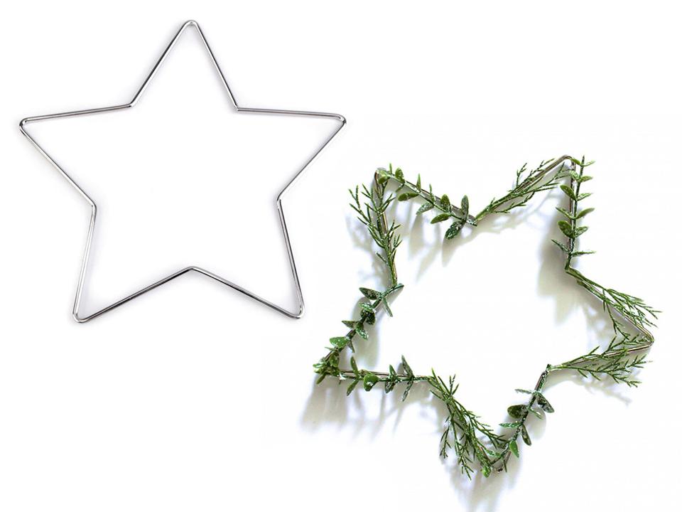 0ac143a63e101 Kovová hviezda pre lapač snov Ø20 cm | STOKLASA textilní galanterie